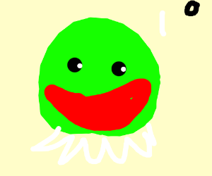 Kermit with Pen15 mouth