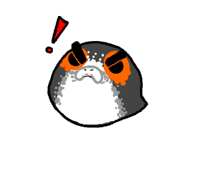 Angry Porgs (like Angry Birds with porg)