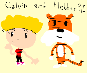 Calvin and Hobbes PIO