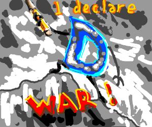 drawception D decaring war