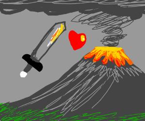 Sword kun x Volcano chan