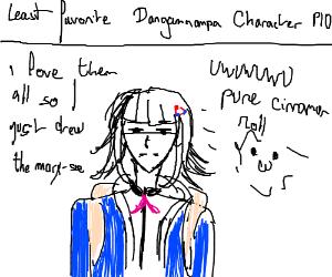 Least favorite Danganronpa Character PIO