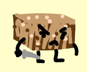 Killer brownie