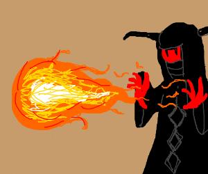 Fire Ball spell