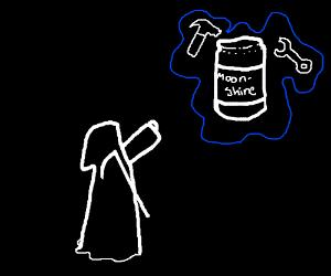 death Making Moonshine