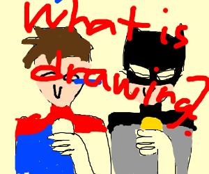 batman and superman ate lemons and limes