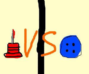 Tack vs Button