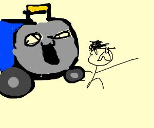 Uncharted 2 Among Thieves Train Sene Drawception
