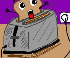 Toast screaming