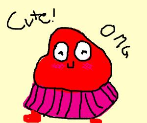 A cute blob