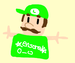 Luigi Dong Going At It (Censored)
