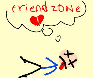 guy dies bc of the friendzone