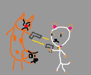Catdog vs Puppycat (deathmatch)