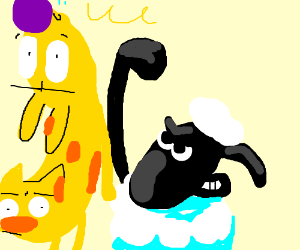 CatDog vs. Shaun The Sheep.