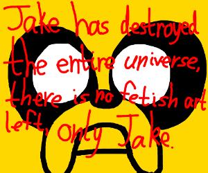 finn sniff-checks JakeTheDogs (full) diaper
