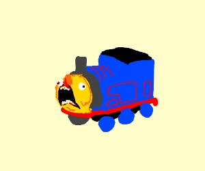 Yellmo the tank engine
