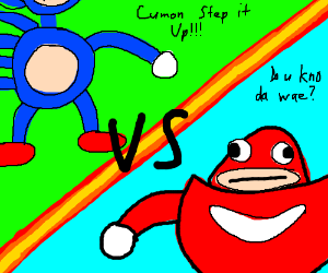the battle of sonic memes