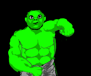 Cute Incredible Hulk