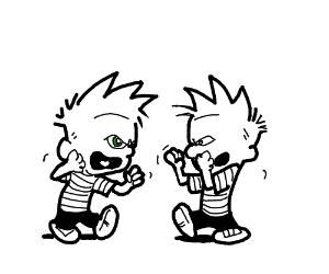 Who is who? Calvin VS Eighty8