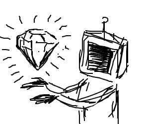 TV-person gets a diamond