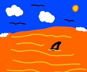 Oceans were orange