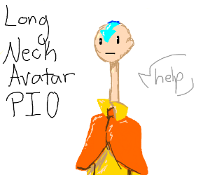 Long Neck Avatar PIO