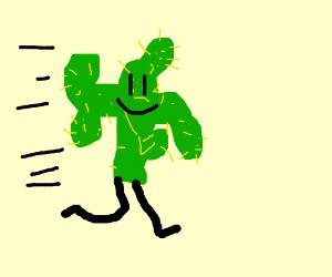 Cactus running