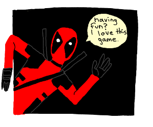Deadpool broke the fourth wall again