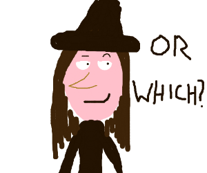 Witch or which