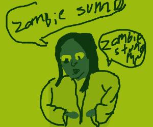 Mona Lisa tells bad puns on halloween