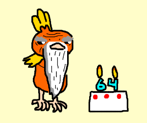 Torchic Is 64 Years Old
