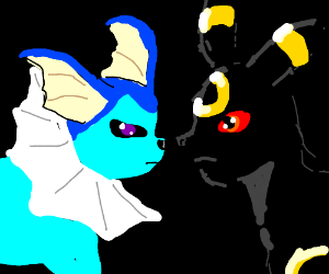 Vaporeon & Umbreon