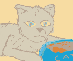 That Cat Wants his Food
