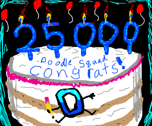 Doodle Squad's 25,000th Game! (wow!?)