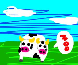 cow with 2 heads O.O