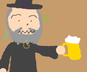 Gandalf getting SUPER DRUNK