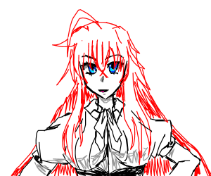 Rias Gremory (skip if don't know,flawless pls)