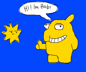 Cool guy Bob says hi to Sun