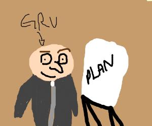 Gru's plan meme - Drawception