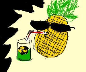 Suave Pineapple drinking acid