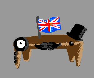 British table