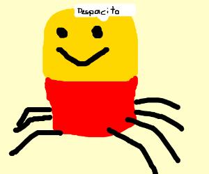 A Roblox Noob But As A Spider Singing Despacit Drawception