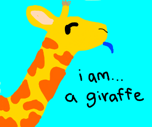 I Am Giraffe Game I am... a giraffe