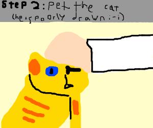 Step 1: Cat(Google it, top, + all panels, PIO)