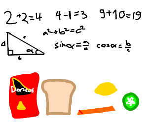 Math and Snacks