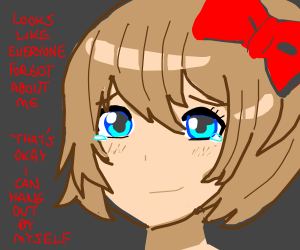 DDLC Girls completely forget about Sayori