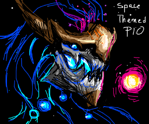 Space themed PIO