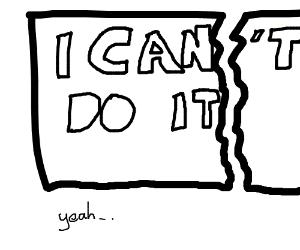Draw confidence!
