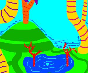 A Dr. Seuss-Style Landscape