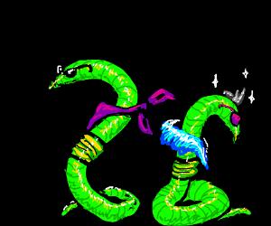 fabulous radioactive worms
